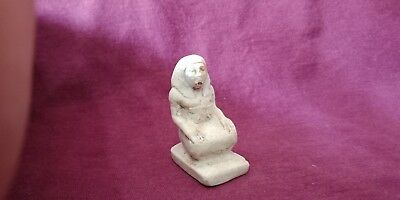 Ancient Egyptian Writer Scribe Kings Figurine Statue
