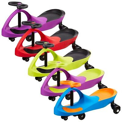 Ride On Wiggle Car Children Kids Toy Swing Self-Propelled Gyro Twist Swivel Gift