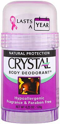 Body Deodorant Stick, Crystal, 4.25 oz