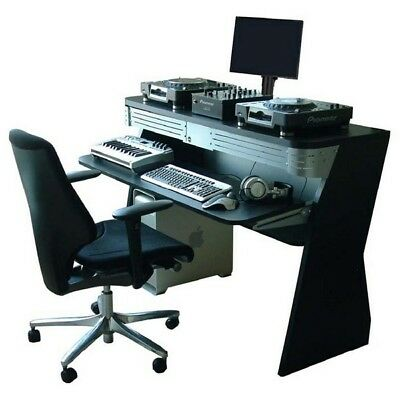 Sefour X60 Home Studio DJ Console Deck Stand Black XR600-901