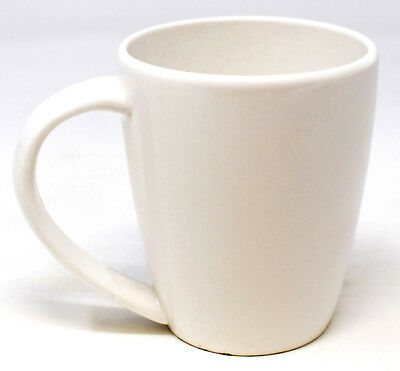 NEW Dudson White 7oz Cups Catering Cafe Fine China Kitchen Home Tea Coffee Mugs