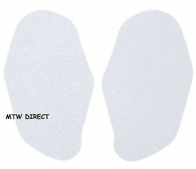 R&G RACING CLEAR TANK TRACTION PADS for Honda CBR954RR (2003)