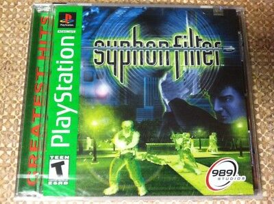 Brand New Syphon Filter Factory Sealed Playstation 1 Game PS1 CIB Complete NIB