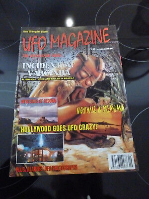UFO Magazine September October 1996 Aliens captured in Brazil and much more