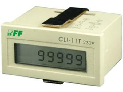 CLI-11T/230 Counter electronical Display LCD Type of count.signal F AND F