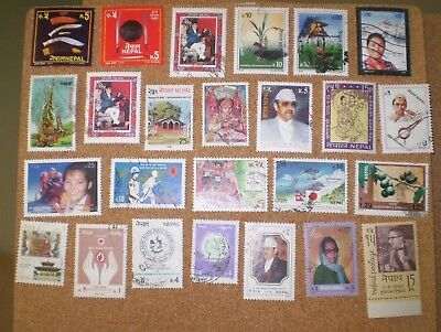A few stamps from Nepal
