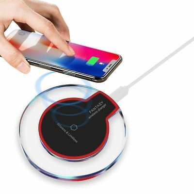 Qi Inductive Charging Station Wireless Charger for Samsung Galaxy S9 S8 + S7 S6