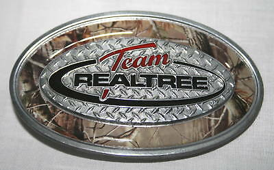 Team Realtree Camo Belt Buckle, Camouflage