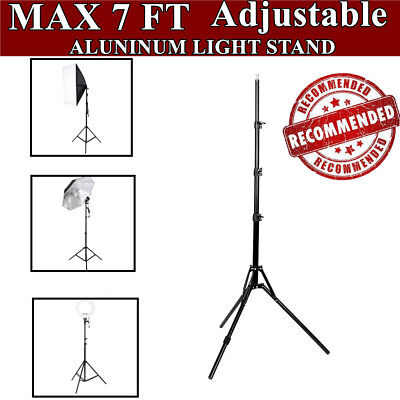 7ft Photo Studio Support Tripod Stand Photography Softbox Umbrella Light Stand