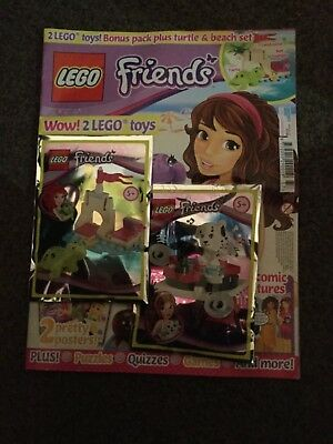 LEGO Friends issue  37  With free gift  and puppy toy