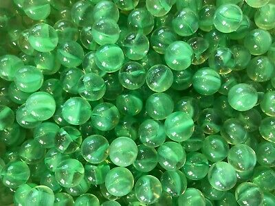 Marbles Green, Red, Blue, Dark Green, Light Green, Yellow, Clear and Light Blue