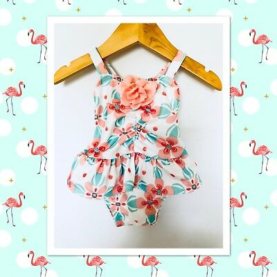 """Gymboree Baby"" Girls One Piece Swimsuit 3-6m"