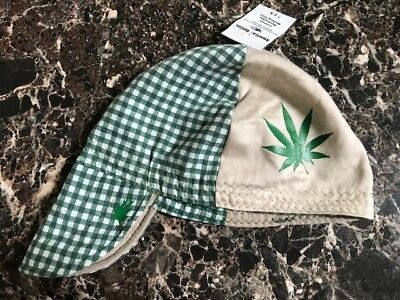 "Plant Manager /""Pot Leaf/"" WELDING HAT Hats Cap Fitter American Hotties Marijuana"