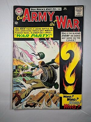 Our Army at War #151 (Feb 1965, DC) [VF-] High Grade! Cool!
