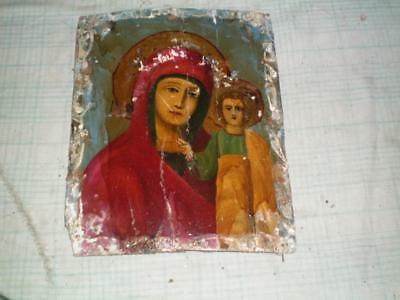 Antique icon 19 century, 100% original