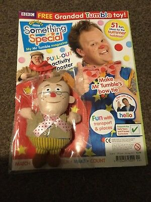 CBeebies Something Special Magazine Issue 4 grandad tumble toy