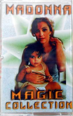 """Madonna""""Magic Collection""""Music Cassette Sealed"""