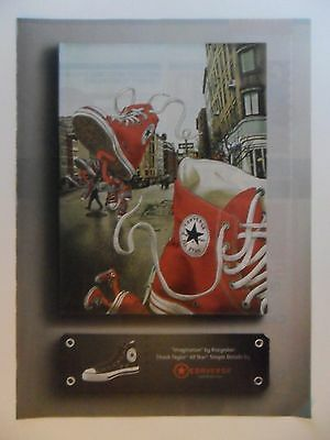 2006 Print Ad Converse Sneakers Shoes ~ Imagination Art by Kozyndan