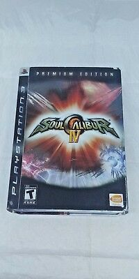 Soul Calibur IV: Premium Edition (Sony PlayStation 3, 2008) Complete in Box