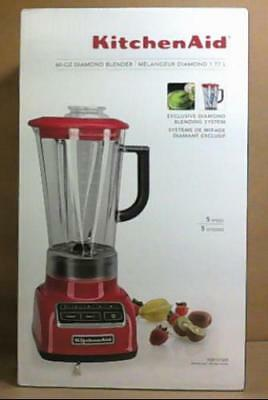 KITCHENAID KSB1575ER 5-SD 60oz Diamond Blender Empire Red $200 ... on vortex blender, breville bbl605xl hemisphere control blender, margaritaville blender, 25 diamond blender, nutribullet ninja blender, best smoothie blender, black diamond blender, vitamix 5200 blender, orange juice blender, cuisinart diamond blender, red blender, blendtec blender, kitchen blender, cuisinart hand blender, cobalt blue vitamix blender, color blender, oster blender, kenwood kmix hand blender,