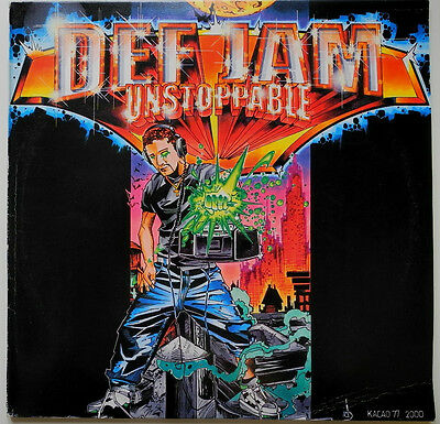 ★★2 x LP DE**VARIOUS - DEF JAM UNSTOPPABLE (DEF JAM GERMANY '01)★★18536