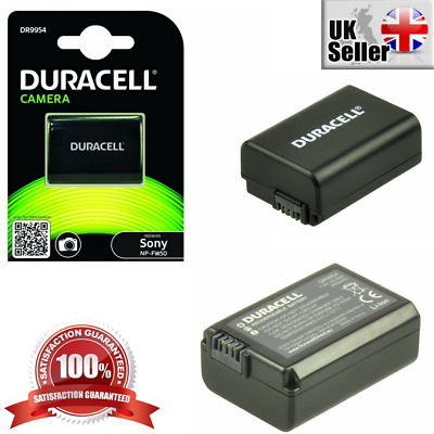 Duracell Premium Analog Sony NP-FW50 Lithium Ion Replacement Battery Digital Cam