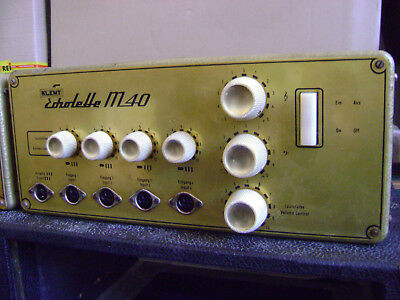 Klemt Echolette M-40 Amp Head Late 1960/Early 1961 tested old school 5-pin DIN