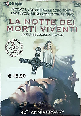 La Notte Dei Morti Viventi ( 2 Dvd + Cd ) Deluxe Edition 40th Anniversary Box
