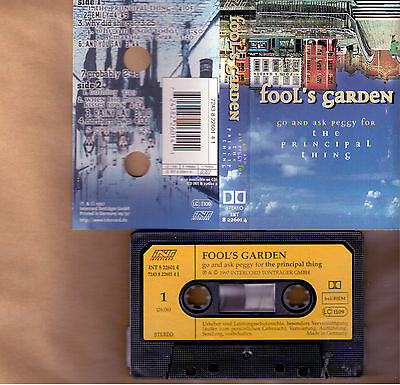 Fool's Garden The Principal Thing Mc Tape Cassette