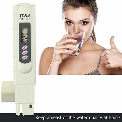 Digital TDS Meter Wasserqualität Reinheit Tester TEMP PPM Test Filter Pen Stick