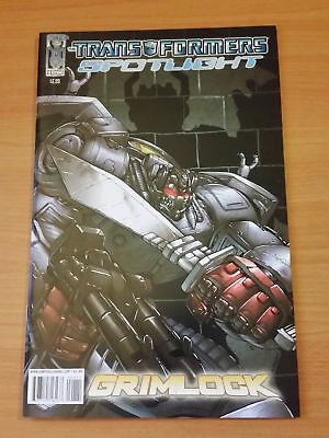 The Transformers: Spotlight: Grimlock  ~ NEAR MINT NM ~ 2008 IDW COMICS