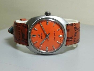 Superb Vintage Enicar WINDING Swiss Made WRIST WATCH Old Used ANTIQUE R14