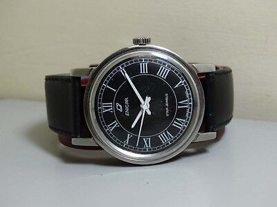 Superb Vintage Enicar WINDING Swiss Made MENS WRIST WATCH Old Used ANTIQUE E721