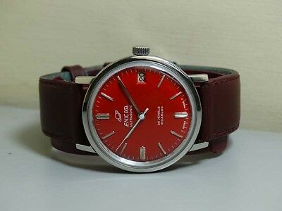 Superb Vintage Enicar WINDING Swiss Made MENS WRIST WATCH Old Used ANTIQUE E604