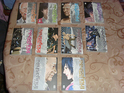 Last Hero Inuyashiki Hiroya Oku 1-10 komplett Gantz Cyborg Ghost in the Shell