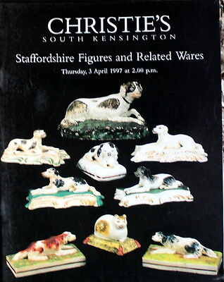 Christies Staffordshire Figures & Related Wares   S.kens 14/3/1997-D