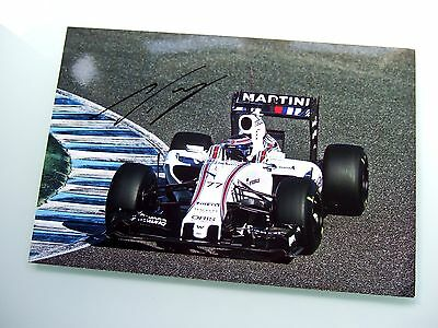 Valtteri Bottas Autograph Genuine Hand Signed F1 2015 Williams Fw37 Photo Coa
