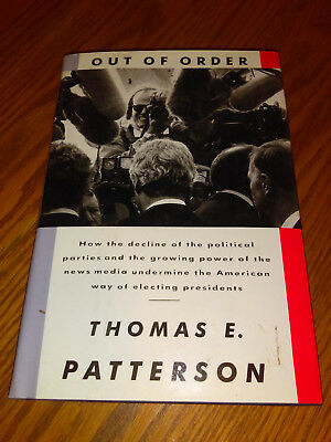out of order patterson thomas e