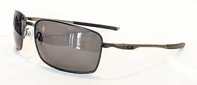 7ace3381f8 Oakley Square Wire Sunglasses - Carbon   Gray Polarized Men s - OO4075-04