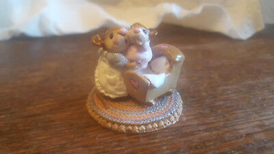 Wee Forest Folk M-69 Beddy-Bye Mousey MINT Condition WFF DP