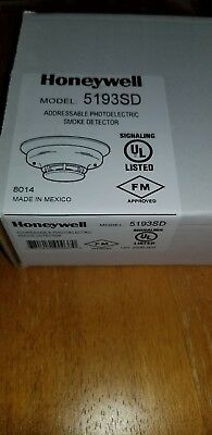 Honeywell 5193SD Smoke Detector, Addressable Photoelectric, New in the Box