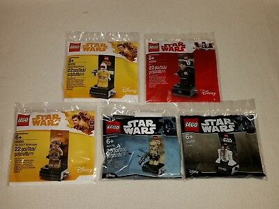 LEGO® Star Wars POLYBAG SET 40176 - 40268 - 40298 - 40299 - 40300 -  NEU / OVP