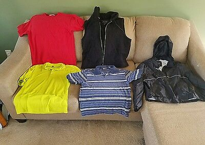 Mens size Medium clothes mixed lot of 5 (mbc)