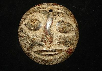 Rare One!  Stone Amulet!  Alien? Angel? God?  5000 Years Old!