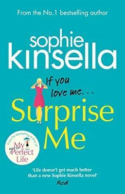 Surprise Me: The Sunday Times Number One b by Sophie Kinsella New Paperback Book