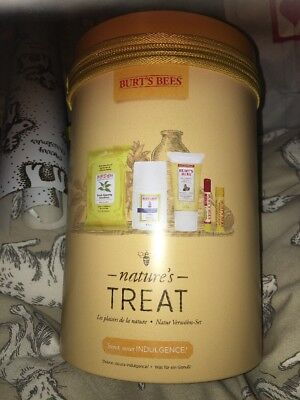 Burts Bees Natures Great Gift Set Christmas Brand New 🐝 In Tin