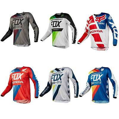 FOX RACE 2018 360 MOTOCROSS JERSEY Motorbike Dirt Bike Offroad Shirt Sports