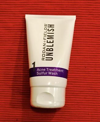 NEW Rodan and Fields Unblemish Acne Treatment Sulfur Wash