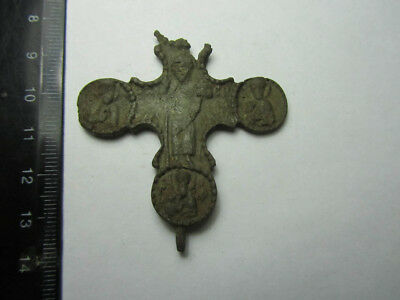 Ancient crosses 15-16 century, 100% original  Metal detector finds.
