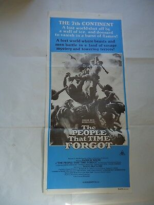E R BURROUGHS/THE PEOPLE THAT TIME FORGOT /6JV/ australian daybill poster